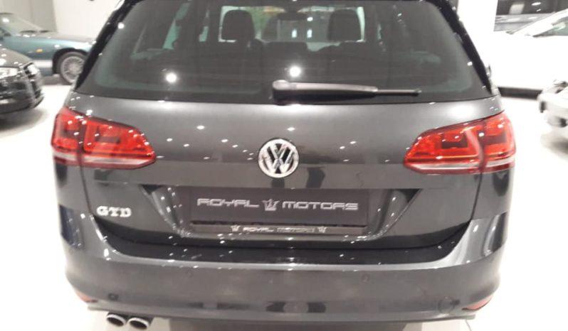 VW GOLF GTD variant 184cv full